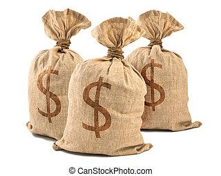 Bolsas de dinero