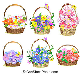 Bolsas de flores