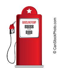 bomba, gasolina