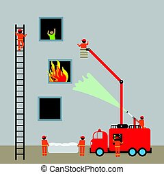 Bomberos de bomberos