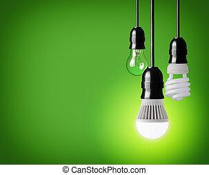 bombillas, luz