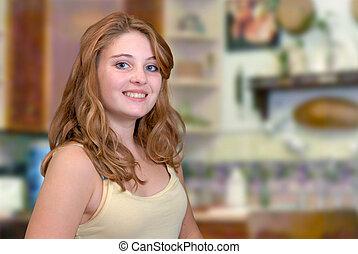Bonita adolescente