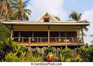 Bonita casa tropical