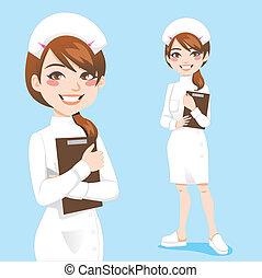 Bonita enfermera