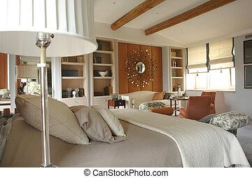 Bonita habitación cómoda
