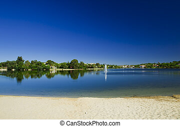 Bonita laguna