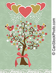 Bonitas aves sociales aman