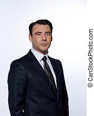Bonito retrato de hombre de negocios