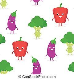 Bonitos vegetales raros sin costura