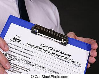 bono, ahorros, forma, purchases), allocation, reembolso, (including, 8888