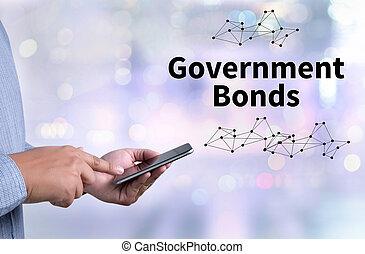 Bonos del gobierno, mercado de bonos