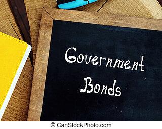 bonos, inscripción, sobre, financiero, gobierno, page., concepto