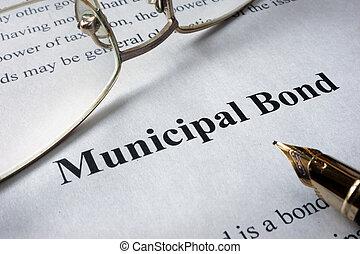 bonos, municipal