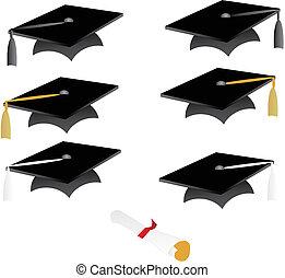 borla, gorra, graduación