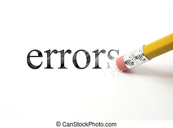 Borra tus errores