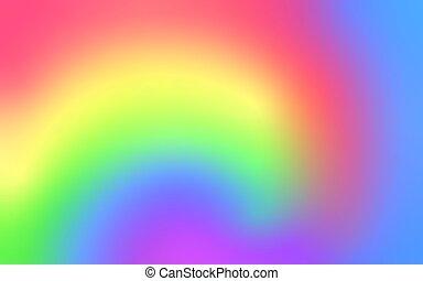 borroso, transición, liso, plano de fondo, vector, color, azul, arco irirs