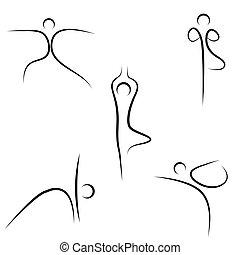 bosquejo, yoga