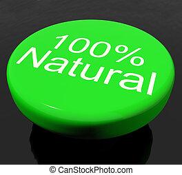 Botón 100% orgánico o ambiental