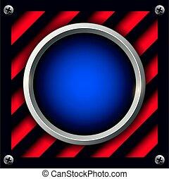 botón, alarma, plano de fondo