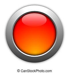 botón, blanco