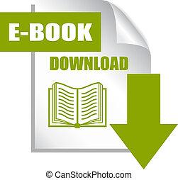 Botón de descarga de libros