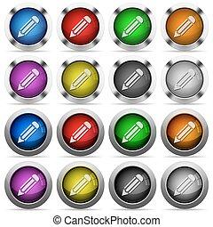 Botón de lápiz listo