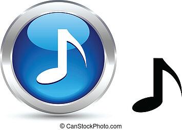 Botón de música.