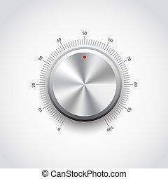 Botón de metal
