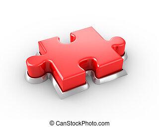 Botón de rompecabezas