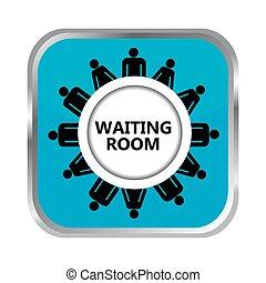 Botón de sala de espera