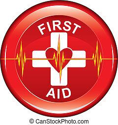 Botón de salud del corazón