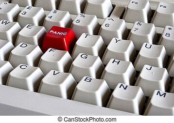 Botón rojo de pánico