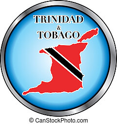 botón, tobago, redondo, trinidad