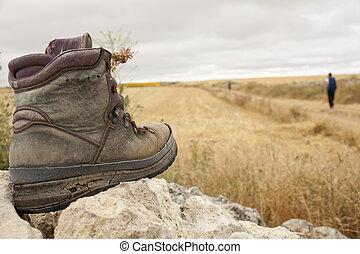 bota, usado