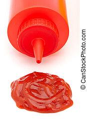 botella de tomate «ketchup»