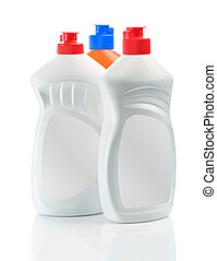 Botellas aisladas