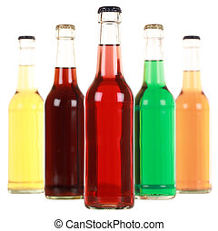 Botellas con soda