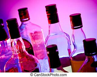Botellas de bar
