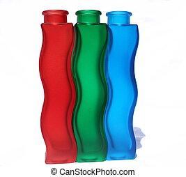 Botellas de color