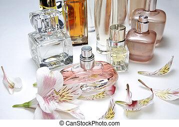 Botellas perfumas