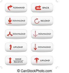 Botones de descarga website