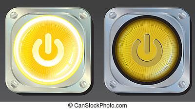 Botones de energía