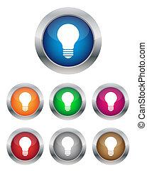 Botones de lámpara