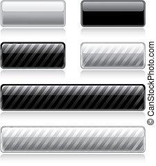 Botones de telaraña