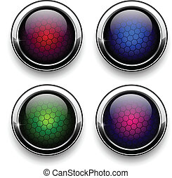 Botones en la red