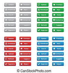 Botones web