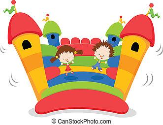 bouncy, castillo