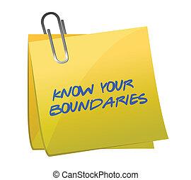 boundaries., diseño, saber, ilustración, su