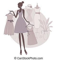 boutique, compras