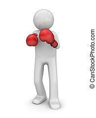 boxeo, defender